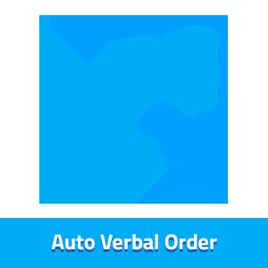 auto verbal order