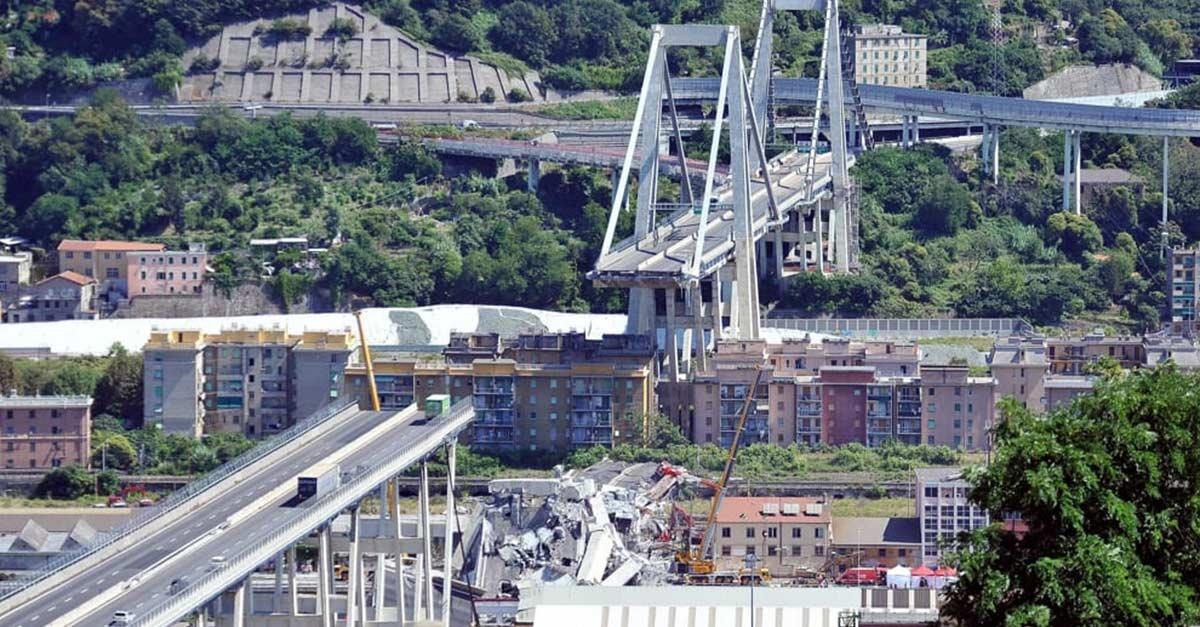 Cover Crollo Ponte Morandi: una risposta automatica per il ritorno alla normalità